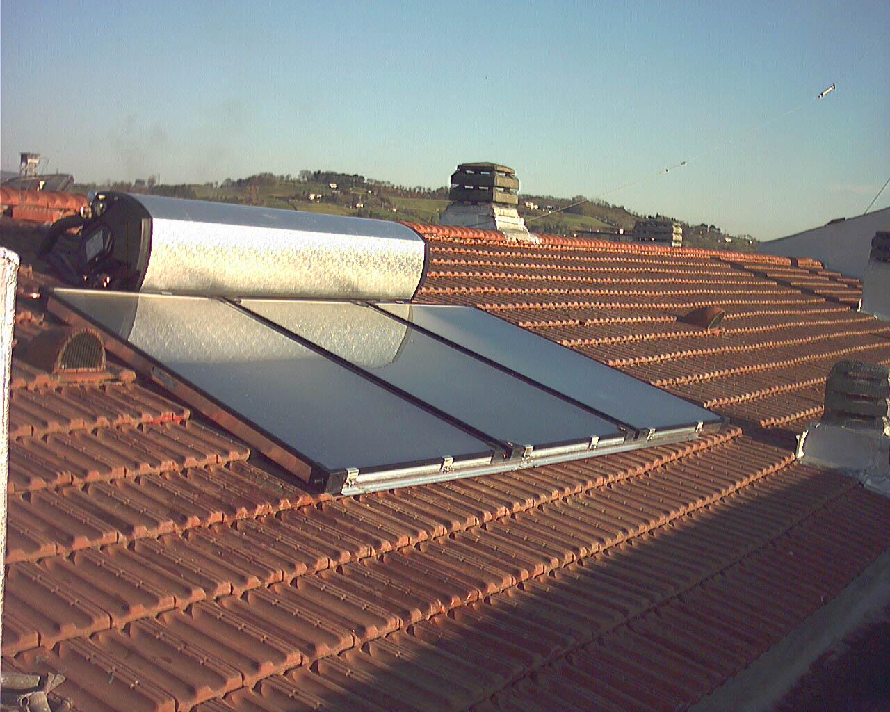 Pannello Solare Termico O Pompa Di Calore : Solare termico domotive